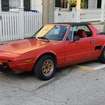 1979 Fiat X1/9 (FOR SALE)