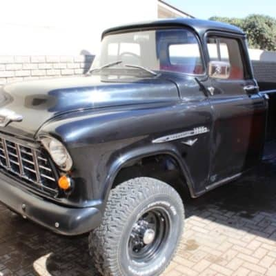 1957 Chevrolet 3800 Right-Hand-Drive 4X4 (FOR SALE)